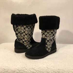 """SZ 8 Coach winter boots """"Kally"""". Great condition"""